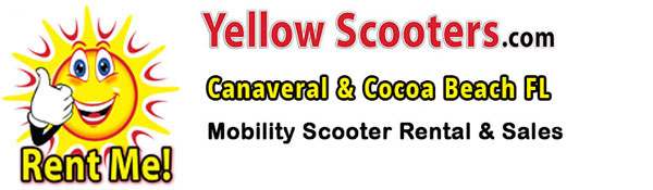 Port Canaveral, Florida – Yellow Scooters