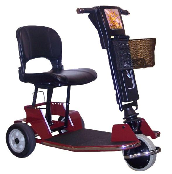 CruiseMate Folding 3 Wheel Scooter